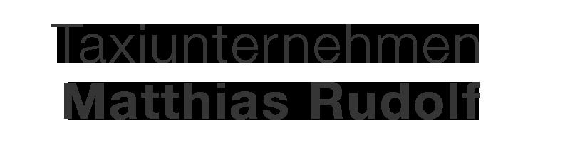 Taxiunternehmen Matthias Rudolf